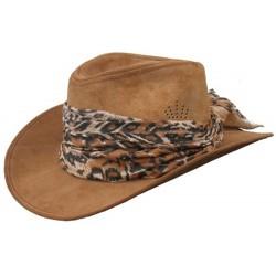 Dámský kožený klobouk Santa Rosa