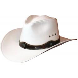 Pánsky kožený klobúk 035
