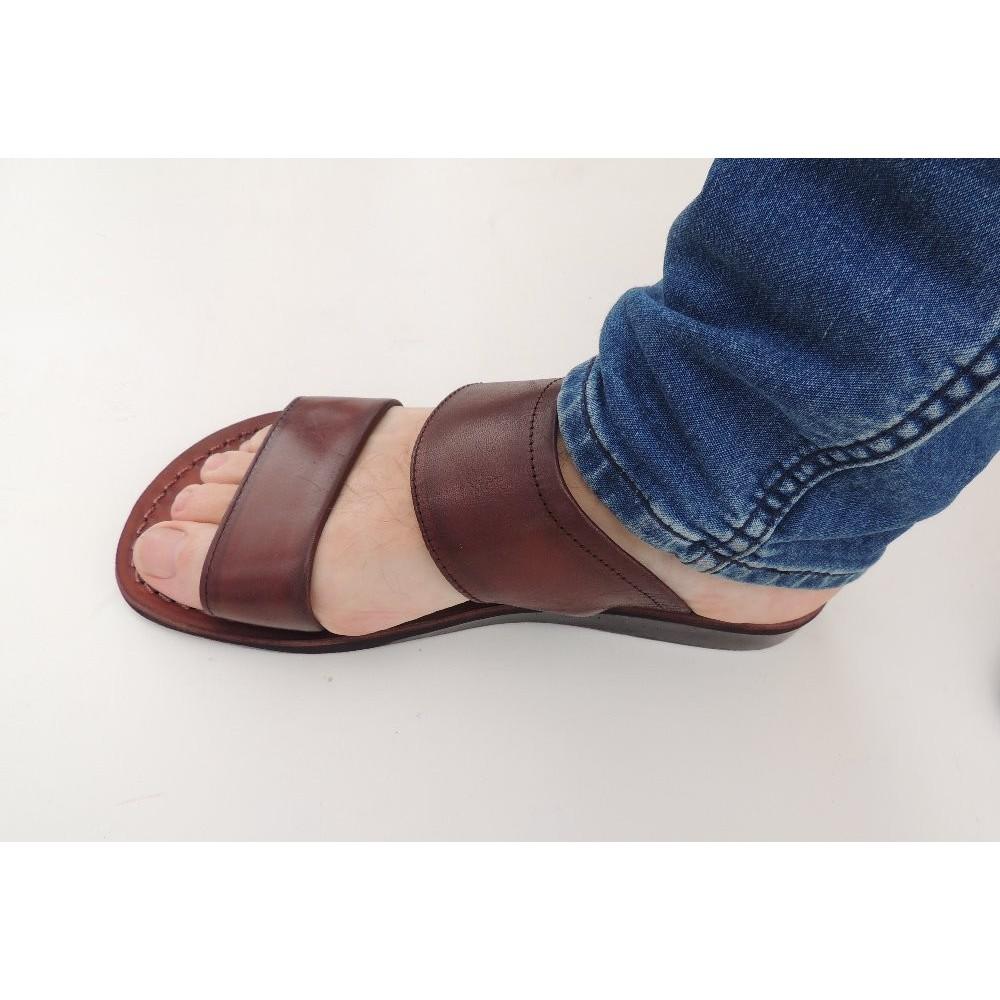 0435b9d1ce87 Pánské kožené pantofle Achnaton - Faraon-sandals.cz