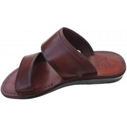 Pánské kožené pantofle Achnaton