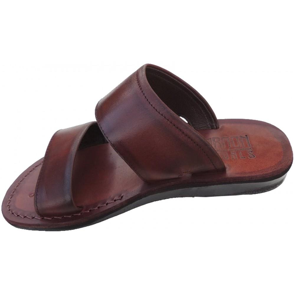 ed7f071ed Pánske kožené šľapky Achnaton - Faraon-sandals.cz