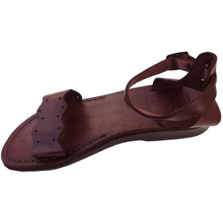 Dámske kožené sandále 072 Neferiti