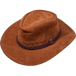Leather hat Kansas