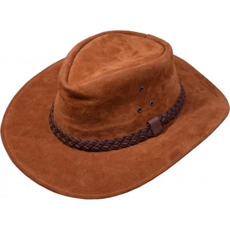 Kožený klobúk Kansas