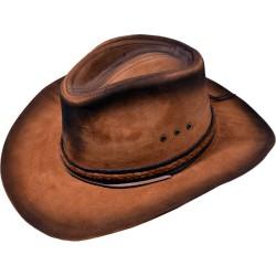 Kožený klobúk Benson