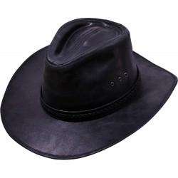 Pánský kožený klobouk Rosvell