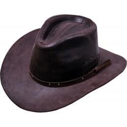 Pánský kožený klobouk Tucson