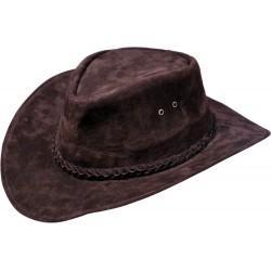 Kožený klobúk Van Horn
