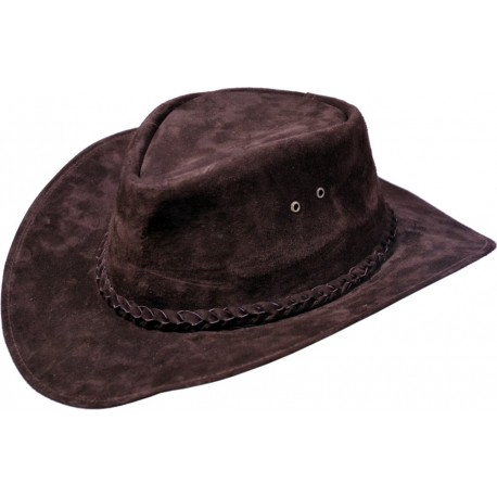 Pánský kožený klobouk 035