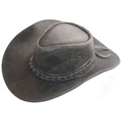 Pánský kožený klobouk El Paso