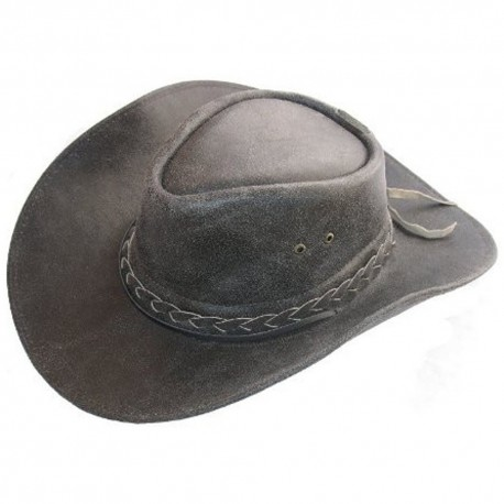 Dámsky kožený klobúk 001