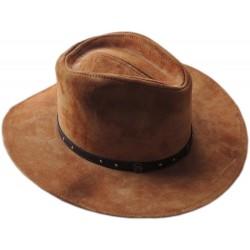 Kožený klobúk Colorado
