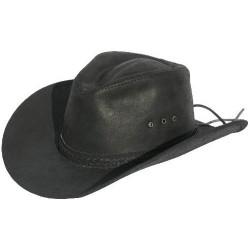 Kožený klobouk Rosvell