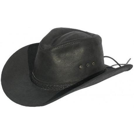 Pánský kožený klobouk Ontario