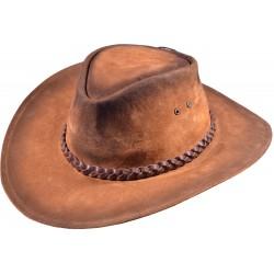 Kožený klobouk Baker