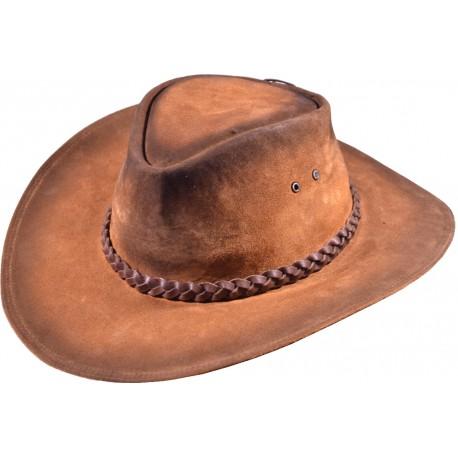 Kožený klobúk Baker