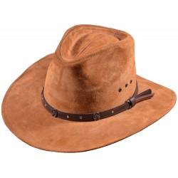 Pánský kožený klobouk Sakramento