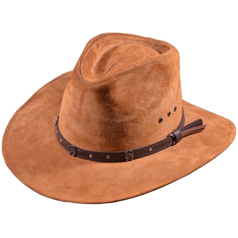 Kožený klobouk Sakramento ffe1d3c323