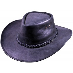 Leather hat Milford