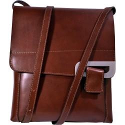 Kožená kabelka kab4 (23x27x6)