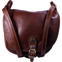 Kožená kabelka kab7 (25x23x10)