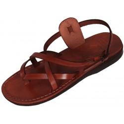 Unisex kožené sandále Peribsen