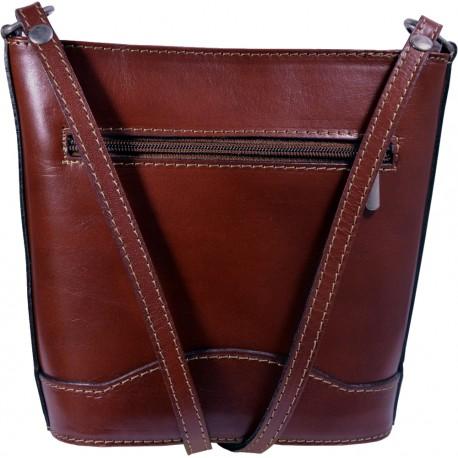 Kožená kabelka kab9 (17x19x7)