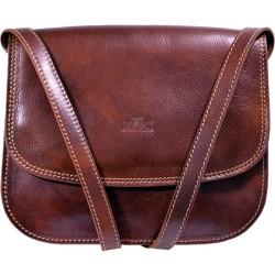 Kožená kabelka kab6 (27x21x9)