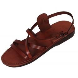 Unisex kožené sandále Pepi