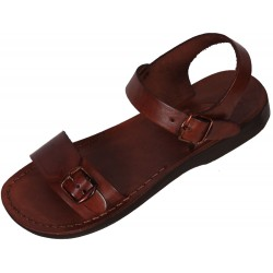 Unisex kožené sandály Antef