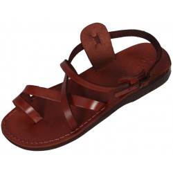 Unisex leather sandals Menkaure