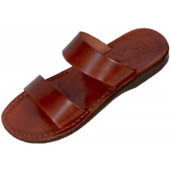 Unisex Leather Slippers Taharka