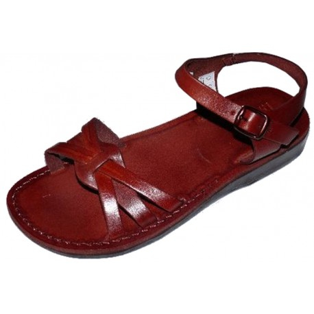 5e66d028a22e Dámské kožené sandály Raneb - Faraon-sandals.cz
