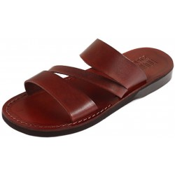 Unisex kožené pantofle Takelot