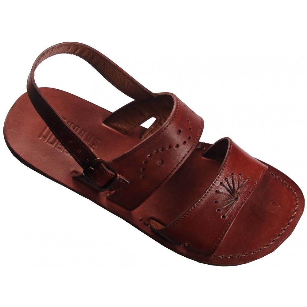 7463cf2c4ec948 Damen Ledersandalen Ramesses mit Keil - Faraon-sandals.cz
