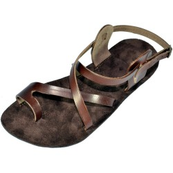 Unisex Leather Barefoot Sandals Menkaure