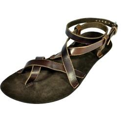 Unisex kožené barefoot sandále Nebthet