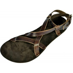 Unisex kožené barefoot sandále Tefnut