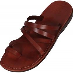 Unisex kožené pantofle Ahmose
