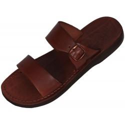 Unisex kožené pantofle Teneb
