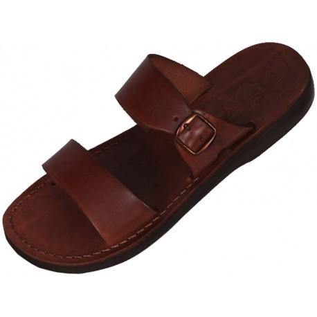 Kožené pantofle Teneb