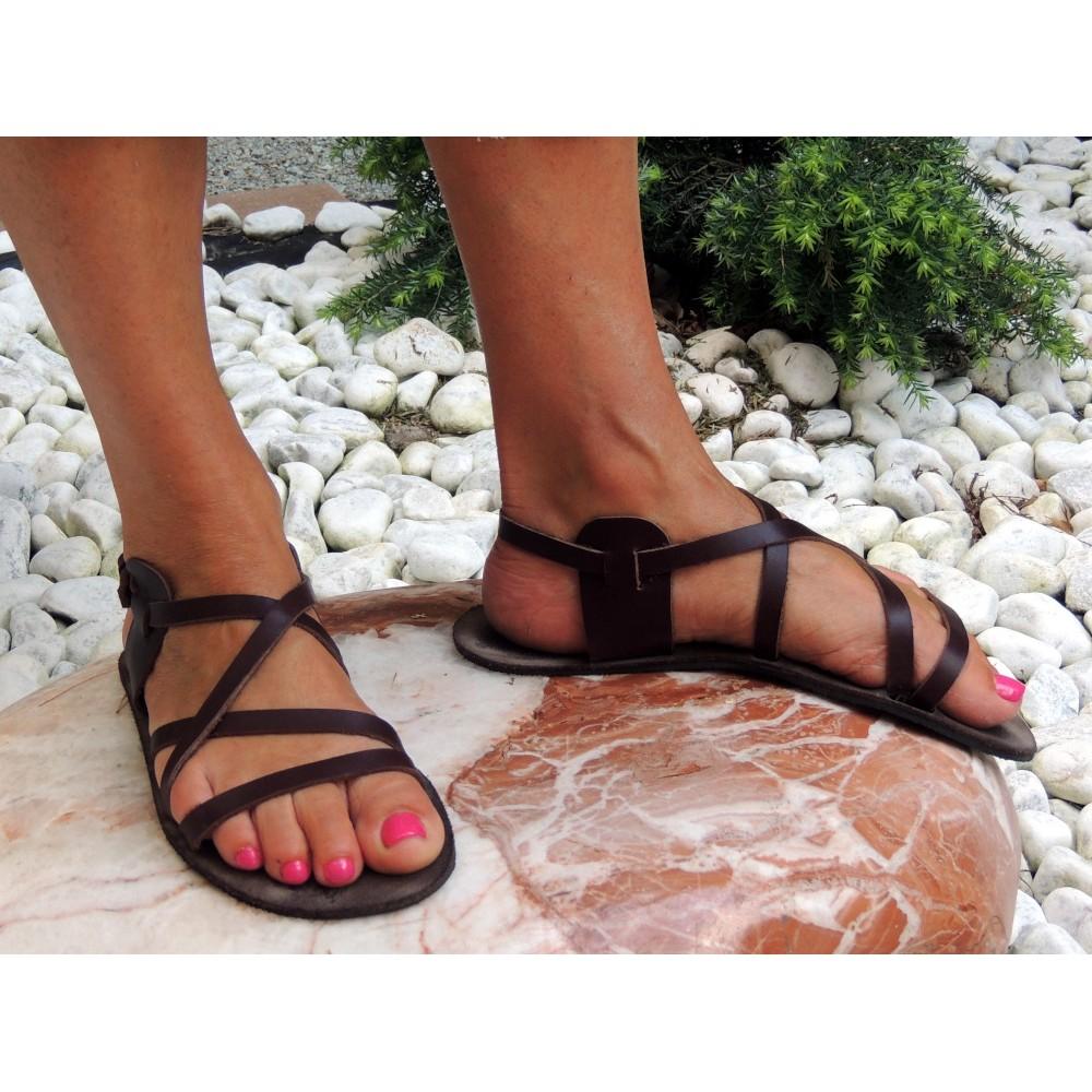 9c77c99362d3 Unisex kožené barefoot sandále Pepi - Faraon-sandals.cz