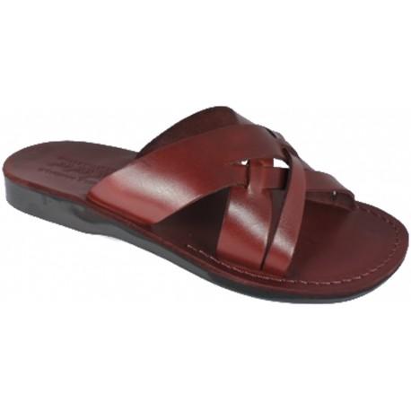 Kožené pantofle Amon
