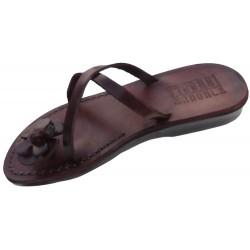 Dámske kožené sandále Flower