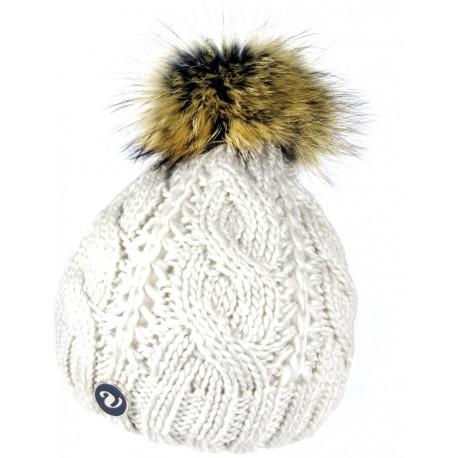 Winter Wollmütze grau 2