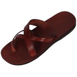 Unisex kožené pantofle Sahure