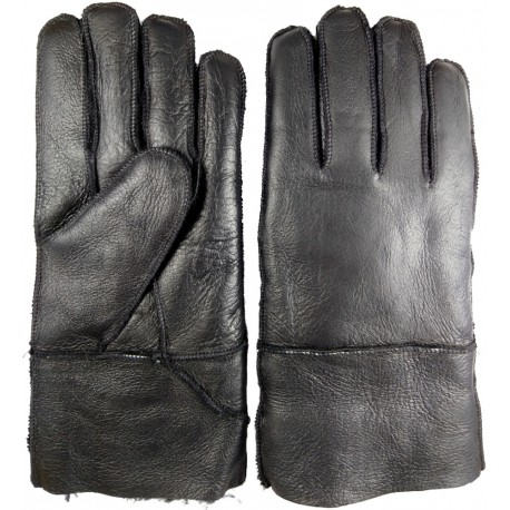 Zimní pánské kožené rukavice černé 1 - Faraon-sandals.cz 1afa4076a1