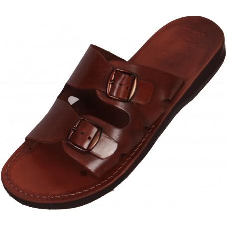 Unisex kožené pantofle Dareios