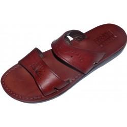 Unisex kožené pantofle Maatkare