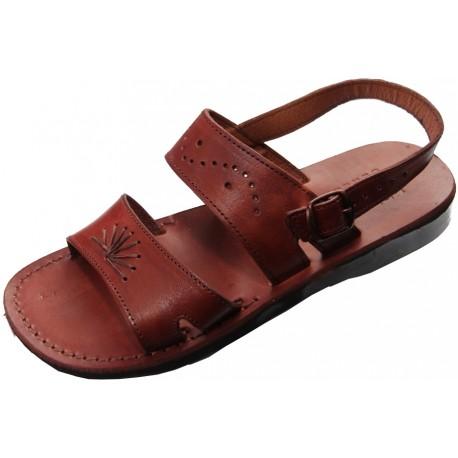 Unisex kožené sandály 210 Ramesse bez klínu